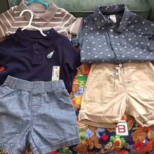 Other - Five piece lot of boys summer clothes